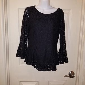 Stunning Adrianna Papell Lace Blouse